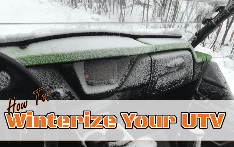 How To Winterize Your UTV